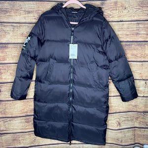 NWT Kangol x H&M Long Puffer coat